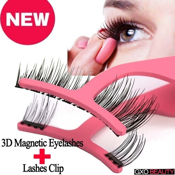 b37e279cea6 Magnetic eyelashes may be less prone to wear and may cause some damage to  the eye for improperly operated glue eyelashes.