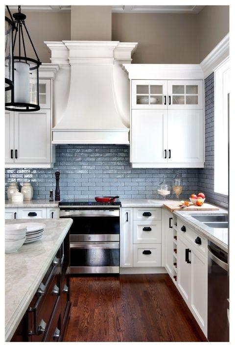 The Floor Depends On Your Climate And How Careful You Are As A Cook I Love Wood Floors In The Kitchen Especially With White Cabinets But It Is Not A Good