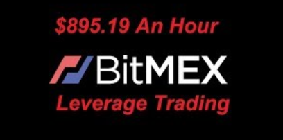 What is the leverage in Bitcoin trading in the exchange like bitMEX