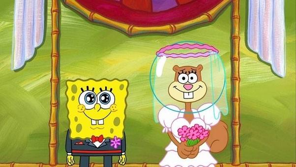 Do Spongebob and Sandy get married? - Quora