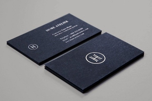 which company has the best business card design quora