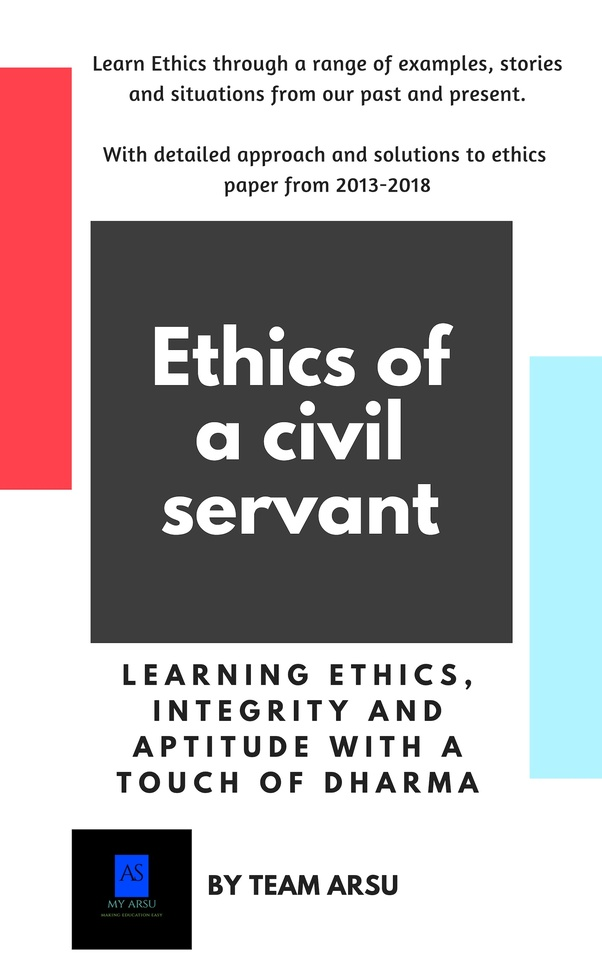 Which is a trustworthy book on ethics integrity and aptitude for