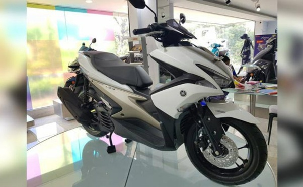 When will be the expected sale of Yamaha Aerox 155C in India