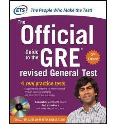 What is the best online tool to study for gre quora the official guide to the gre revised general test with cd rom 2nd edition is a book that comes directly from the very same people who set the test fandeluxe Gallery