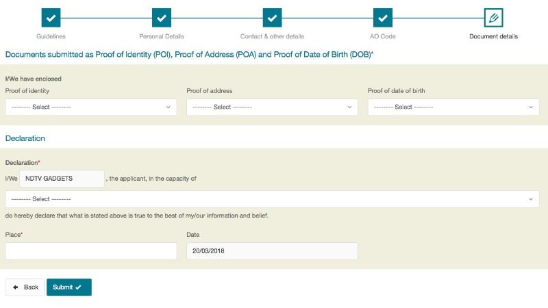 New Pan Card Application Pdf Form Ing