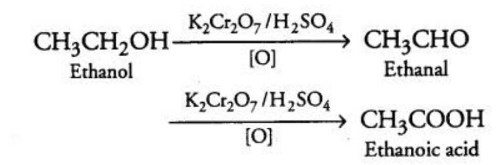 preparation of ethanoic acid from ethanol