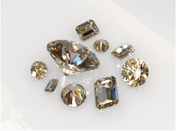 Are Champagne Or Brown Diamonds Valuable Or Just The Dirty Parts Trimmed From The Clear Diamonds Quora