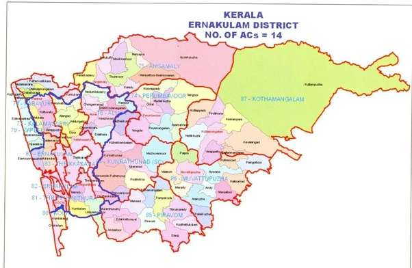 what is the difference between kochi, cochin and ernakulam in kerala