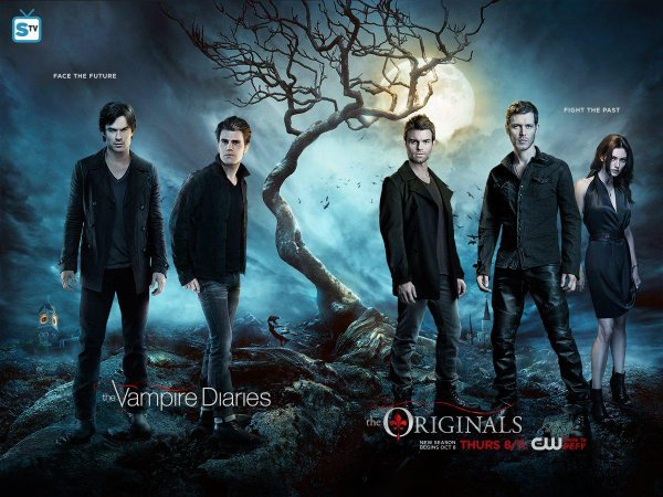 In what order should you watch The Vampire Diaries and The