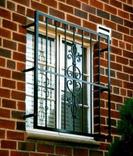 What Are Some Ideas For Window Grills?