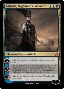 What are the black and blue Planeswalkers in Magic: The ... Planeswalker Arcane Wizardry
