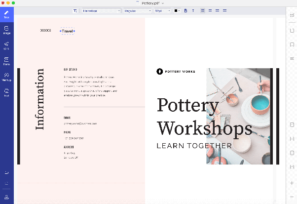 If there any PDF editor alternatives to replace text in a