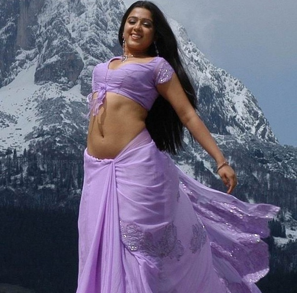 Is There Any Indian Actress Whom You Admire For Her Low Waist Below The Navel Saree Draping Style Quora