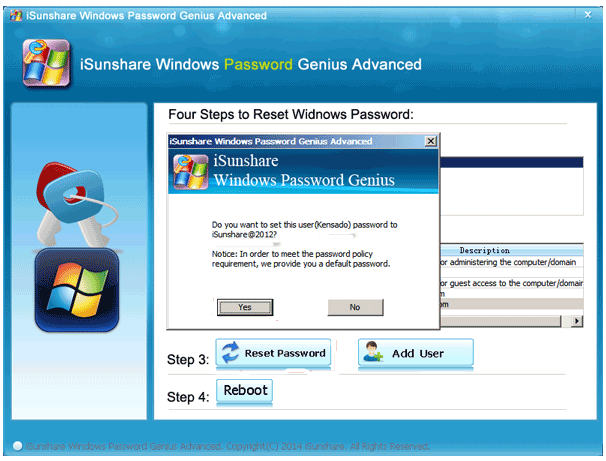 this disk is not a password reset disk windows 8.1