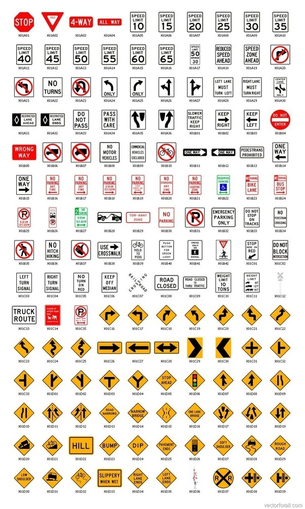 Why Do Us Regulatory Traffic Signs Have More Text Instead Of Symbols