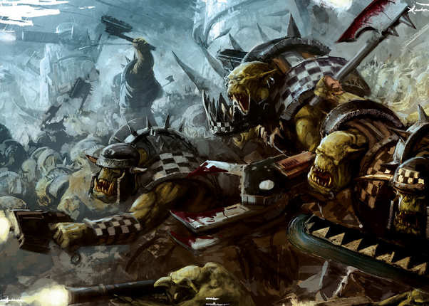 In Warhammer 40k, why are there so many melee (especially