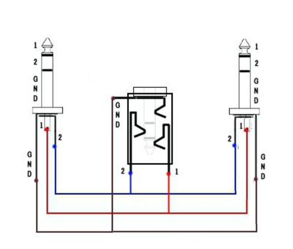 Can somebody help me by showing a 3.5mm audio jack split ...