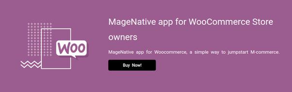 Où puis-je avoir une application mobile pour la boutique en ligne WooCommerce?