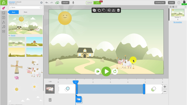 how to create animation software