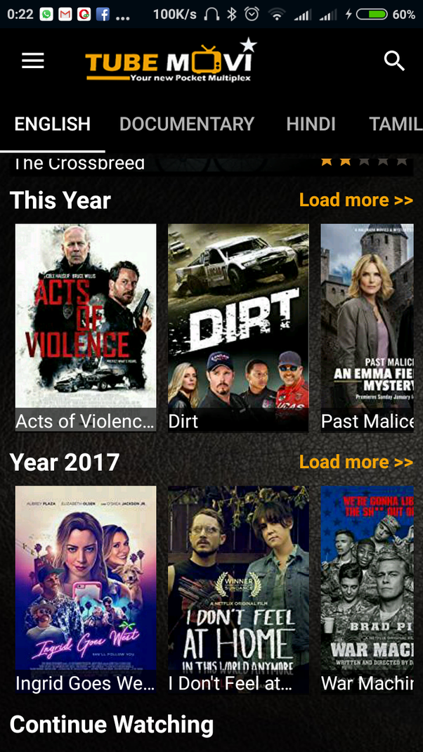 best movie downloading android app