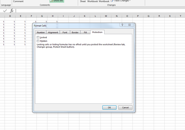 How To Protect An Excel Sheet From Copying Cells Without Using