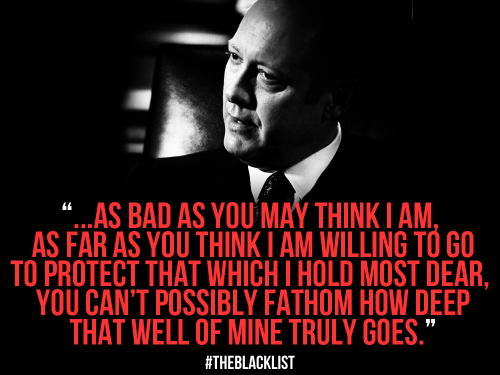 what are some of the quotes used by raymond reddington in