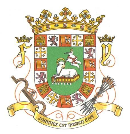 what is the meaning behind the puerto rico coat of arms