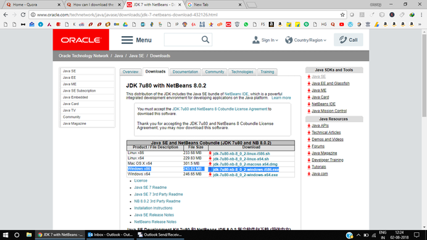 Java jdk 7 download windows xp.