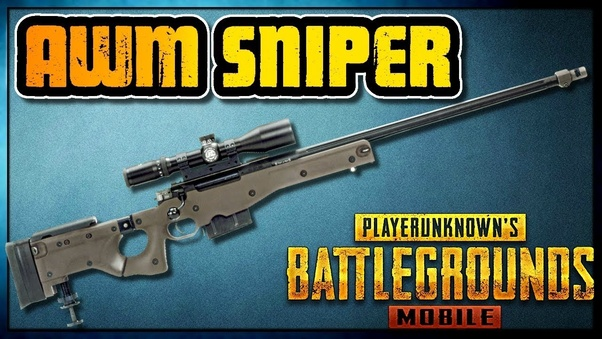 Which is the best sniper rifle in PUBG mobile? - Quora