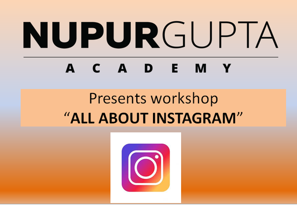 NGA is organising workshop on all details about Instagram.Its a free workshop, you can visit them.