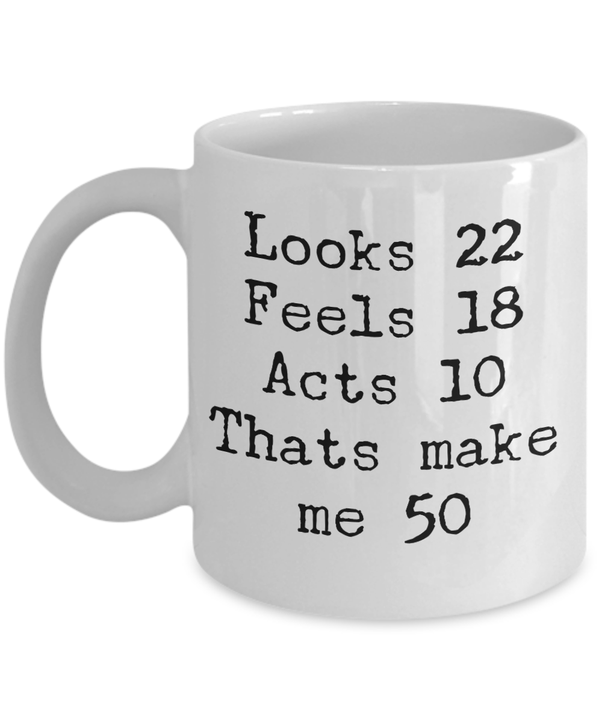Funny 50th Birthday Gifts Presents For
