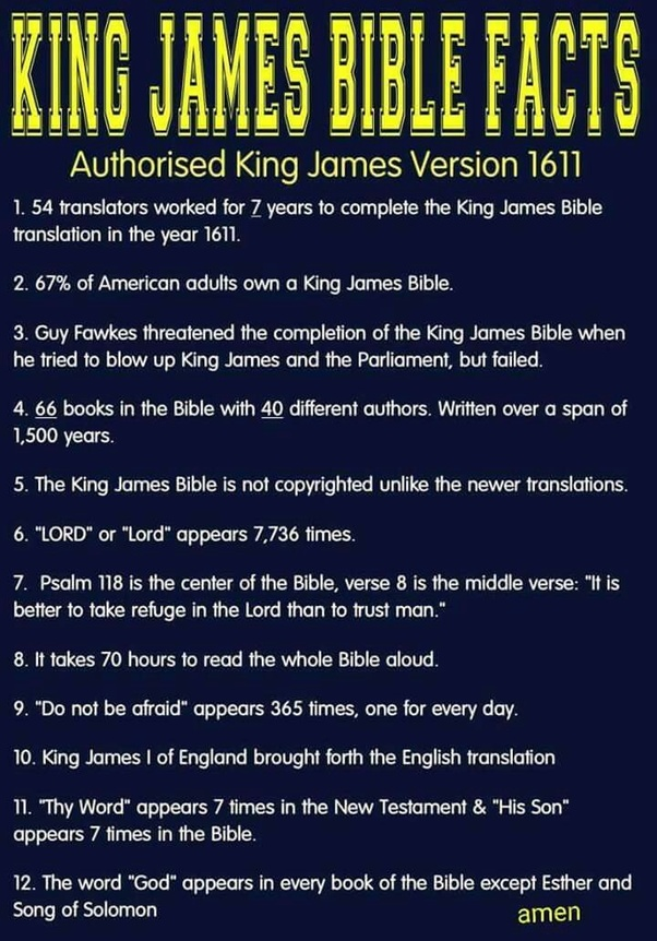Is the King James Bible infallible? - Quora