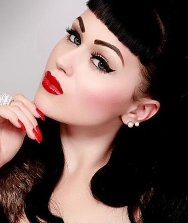 Rockabilly Makeup Saubhaya