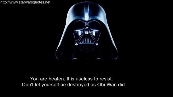 100: The 100 Best Star Wars Quotes EVER!* - Star Wars 7x7 |Star Wars Best Quotes Ever