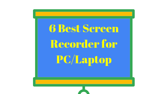 Which is the best and free screen recorder for Windows which export