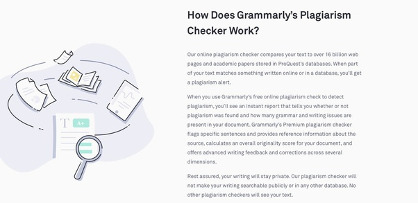Is Grammarly A Reliable Plagiarism Checker  Quora If You Want An Allround Good Grammar And Plagiarism Checker Then Probably  Grammarly Is The One Of The Best Allinone Combinations English Essay also Topics For An Essay Paper  Synthesis Essays