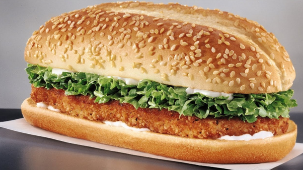 is burger king s long chicken a sandwich or a burger quora
