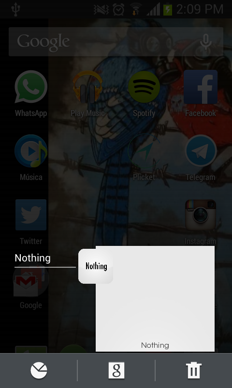 how to play nothing app