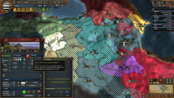 In Europa Universalis 4, how do you survive as the Empire of