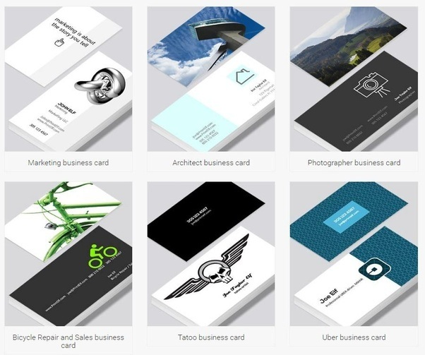 What are some of the best online tools for creating business cards design are here colourmoves