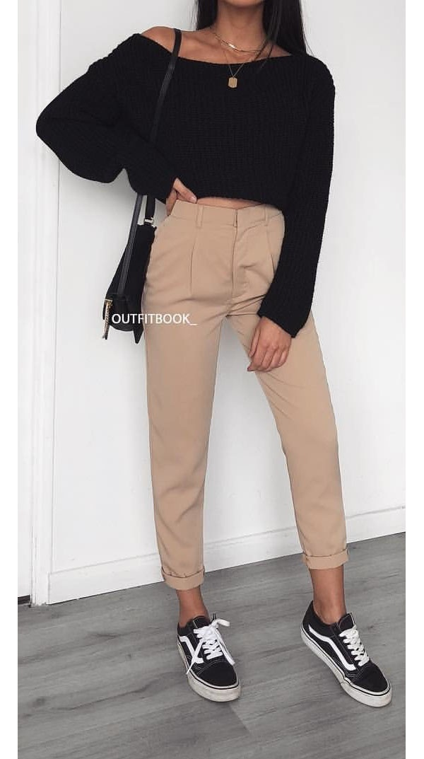 real quality choose official best value What color shirt can a woman wear with brown pants? - Quora