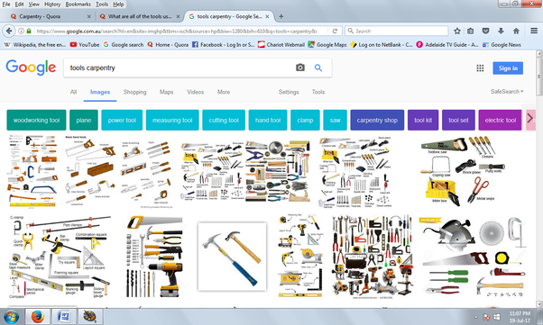 what are all of the tools used in carpentry quora