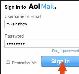 Aol Login Email