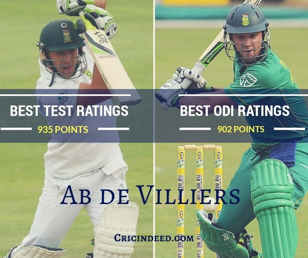 He Was The 1st Player To Be In 900 Rating Points Concurrently Both Formats
