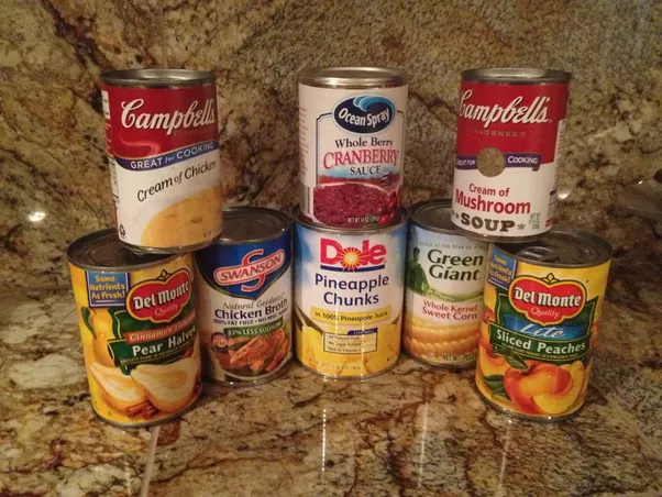 Canned Goods Are Prepared Ready To Eat And Very Hygienic