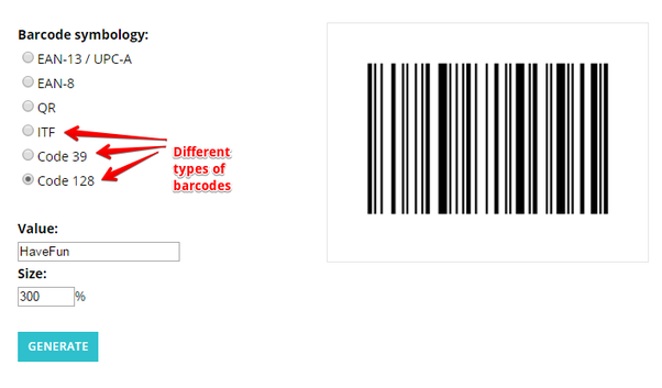 Image Led Scan Barcodes With An Android Phone Using Barcode Scanner 4