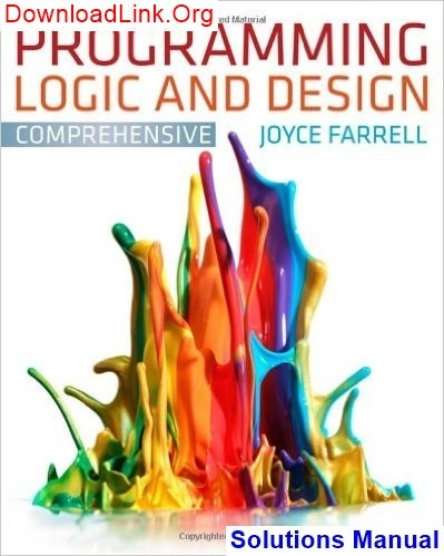 programming logic and design 7th edition answers