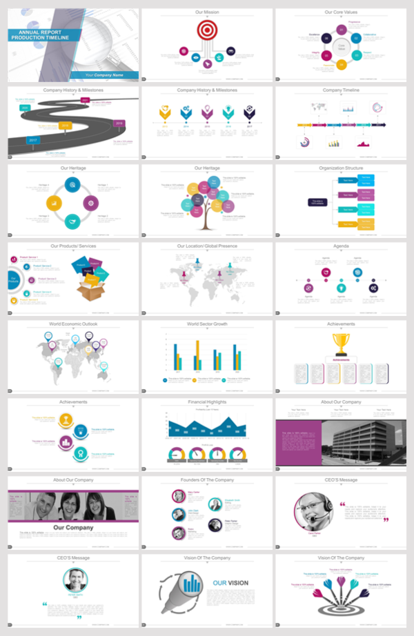 Where can I download a professional PowerPoint template for