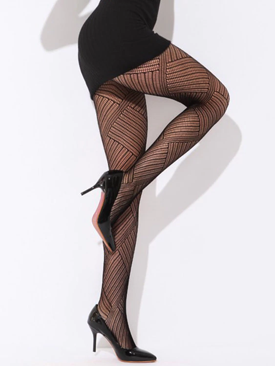 Why do women wear sheer stockings or pantyhose with mini ...