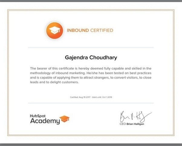 I want to pass the Inbound Marketing Certification test for HubSpot ...